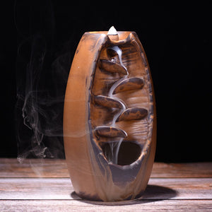 Waterfall Backflow Zen Incense Burner