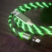 Load image into Gallery viewer, COOL NIGHT GLOW ANDROID/ APPLE/TYPE-C USB CHARGER CABLE