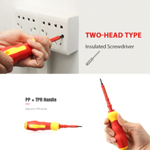 Load image into Gallery viewer, Dual-purpose Insulated Screwdriver