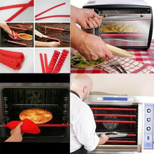 Load image into Gallery viewer, Silicone Oven Rail Guard (2pcs)