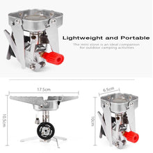 Load image into Gallery viewer, Portable Camping Stove