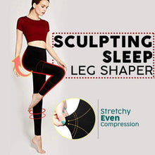 Load image into Gallery viewer, Sculpting Sleep Leg Shaper