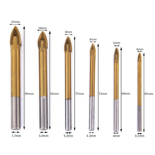 Load image into Gallery viewer, 6pcs Spear Head Drill Bits