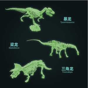 Glowing-Dino Excavation Kit