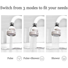 Load image into Gallery viewer, 360° Rotating Faucet Booster Shower