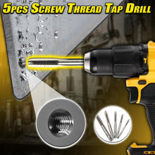 Load image into Gallery viewer, 5pcs Screw Thread Tap Drill