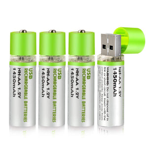 USB Rechargeable Batteries