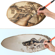 Load image into Gallery viewer, Leather Pyrography Pen Tool Set