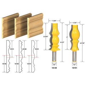 Reversible Crown Molding Router Bit