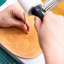 Load image into Gallery viewer, Leather Carving Stamps Tools
