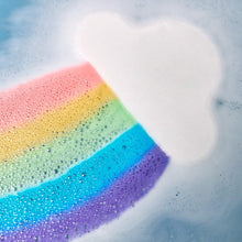 Load image into Gallery viewer, Rainbow Cloud Bath Bomb