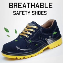 Load image into Gallery viewer, Breathable Safety Shoes