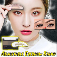 Load image into Gallery viewer, Adjustable Eyebrow Stamp