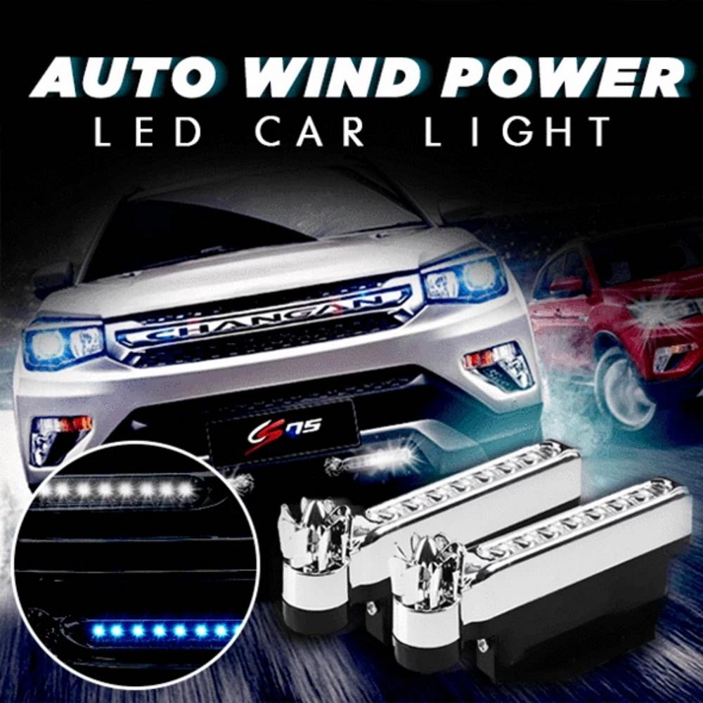 Auto Wind Power LED Car Light (2pcs)