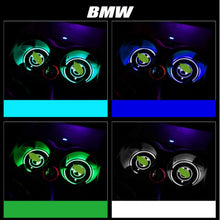Load image into Gallery viewer, 2pcs LED Car Cup Holder Mats    [Car Logo/Superheroes/Cartoons]