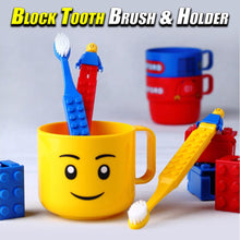 Load image into Gallery viewer, Block Tooth Brush & Holder