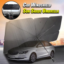 Load image into Gallery viewer, Car Windshield Sun Shade Umbrella