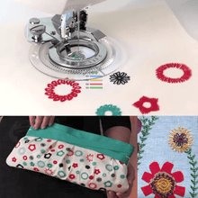Load image into Gallery viewer, Sewing Machine Flower Presser Foot