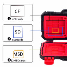 Load image into Gallery viewer, Waterproof Memory Card Carrying Case