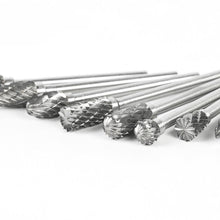 Load image into Gallery viewer, 10pcs Tungsten Carbide Rotary Burr Set