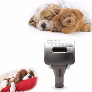 Vacuum Grooming Brush