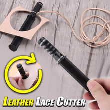 Load image into Gallery viewer, Leather Lace Cutter