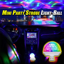 Load image into Gallery viewer, Mini Party Strobe Light-Ball