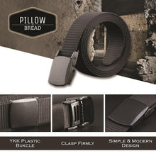 Load image into Gallery viewer, Casual Military Grade Polymer Buckle Nylon Belt
