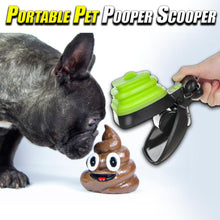 Load image into Gallery viewer, Portable Pet Pooper Scooper