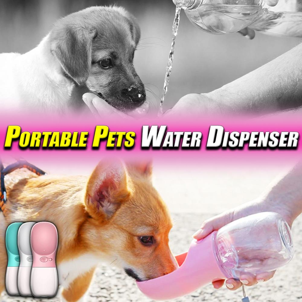 Portable Pets Water Dispenser