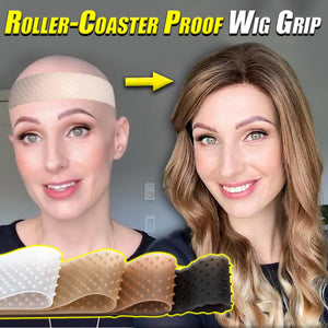 Roller-Coaster Proof Wig Grip