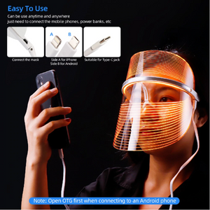 LED Light Therapy Face Mask