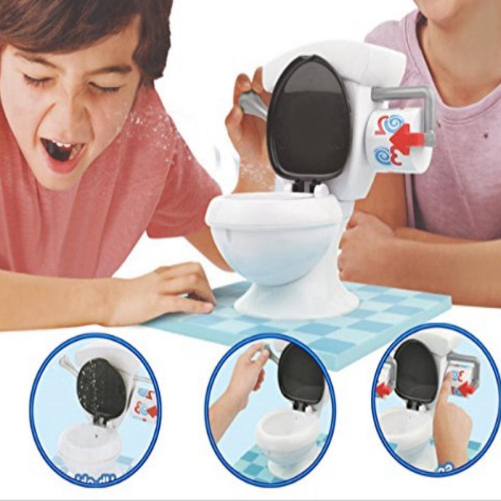 Toilet Flushing Toy
