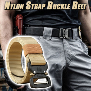 Nylon Buckle Belt