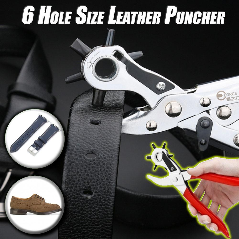 6 Hole Size Leather Puncher