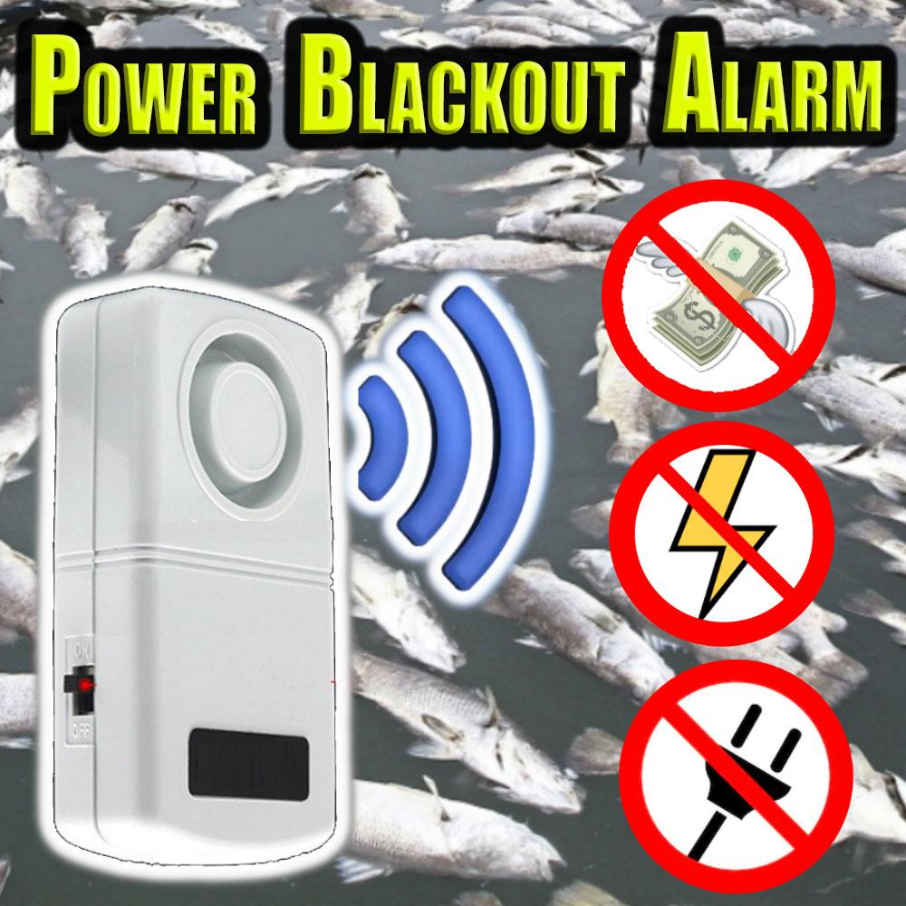 Power Blackout Electric Alarm