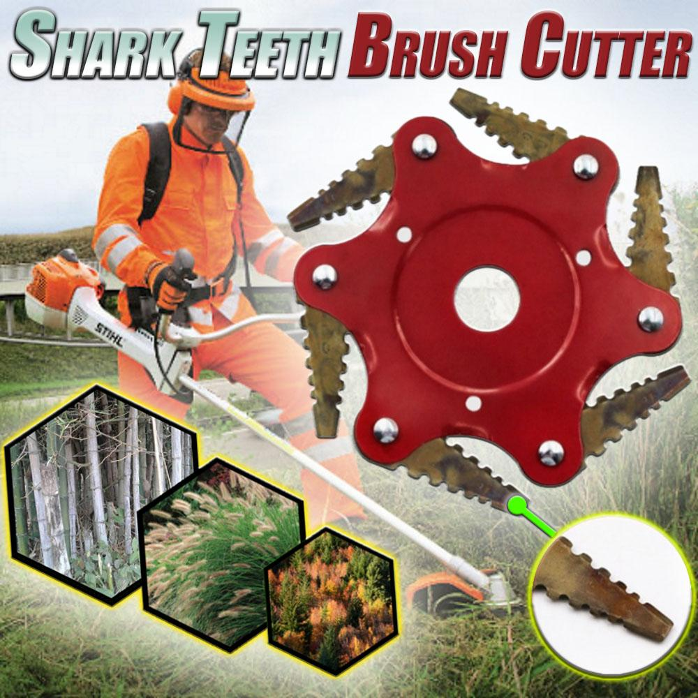 Shark Teeth Brush Cutter