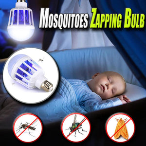 Mosquitoes Zapping Bulb