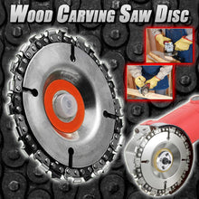 Load image into Gallery viewer, Wood Carving Chain Disc