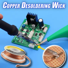 Load image into Gallery viewer, Copper Desoldering Wick
