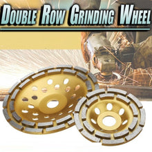 Load image into Gallery viewer, Double Row Concrete Granite Grinding Wheel