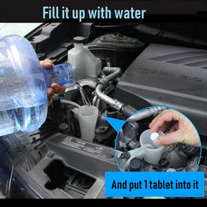 Car Windscreen Cleaner (10pcs)