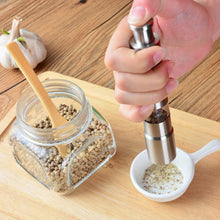 Load image into Gallery viewer, Thumb Press Pepper Grinder