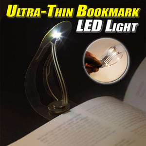 Ultra-Thin Bookmark LED Light