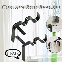 Load image into Gallery viewer, Curtain Rod Bracket