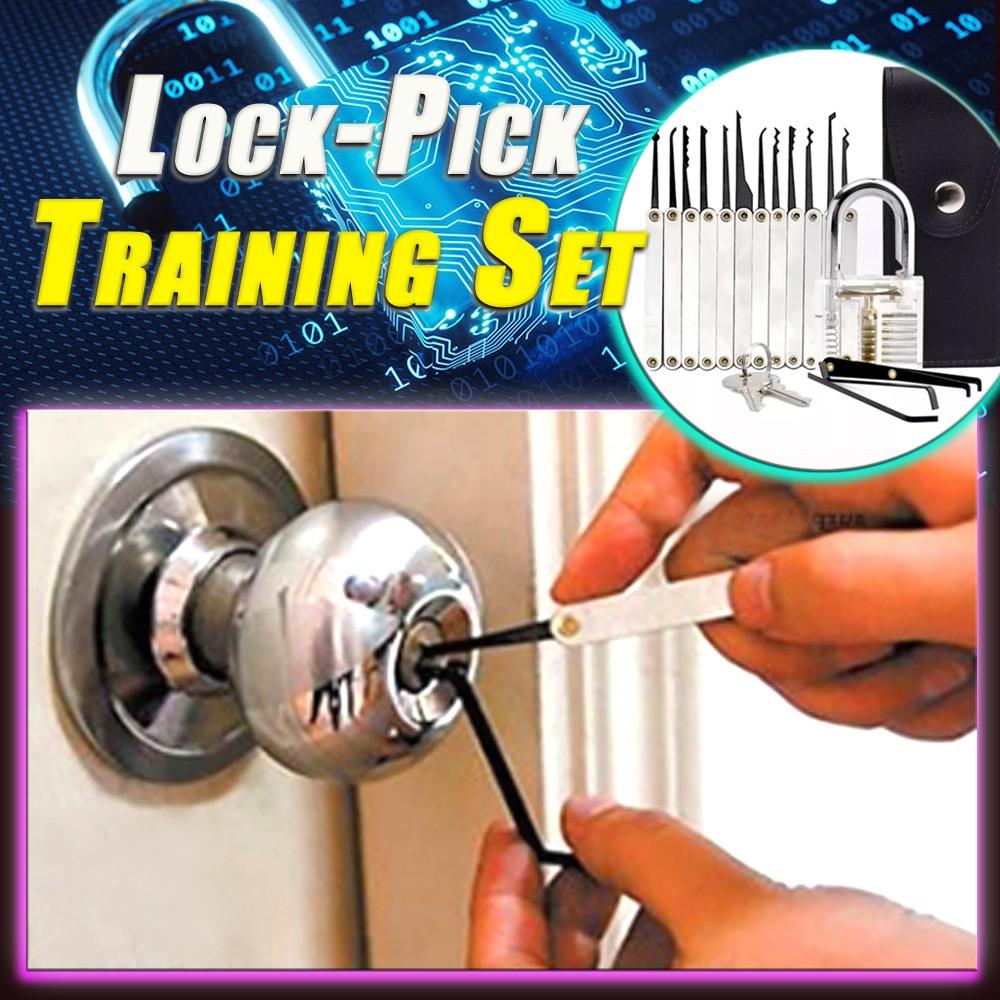 (2021 New Year's Promotion) Lock-Pick Training Set