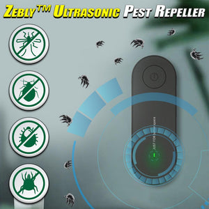 Zebly™ Ultrasonic Pest Repeller