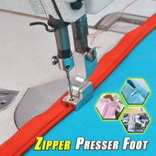 Load image into Gallery viewer, Zipper Presser Foot