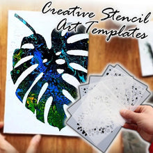Load image into Gallery viewer, Creative Stencil Art Template (3Pcs)