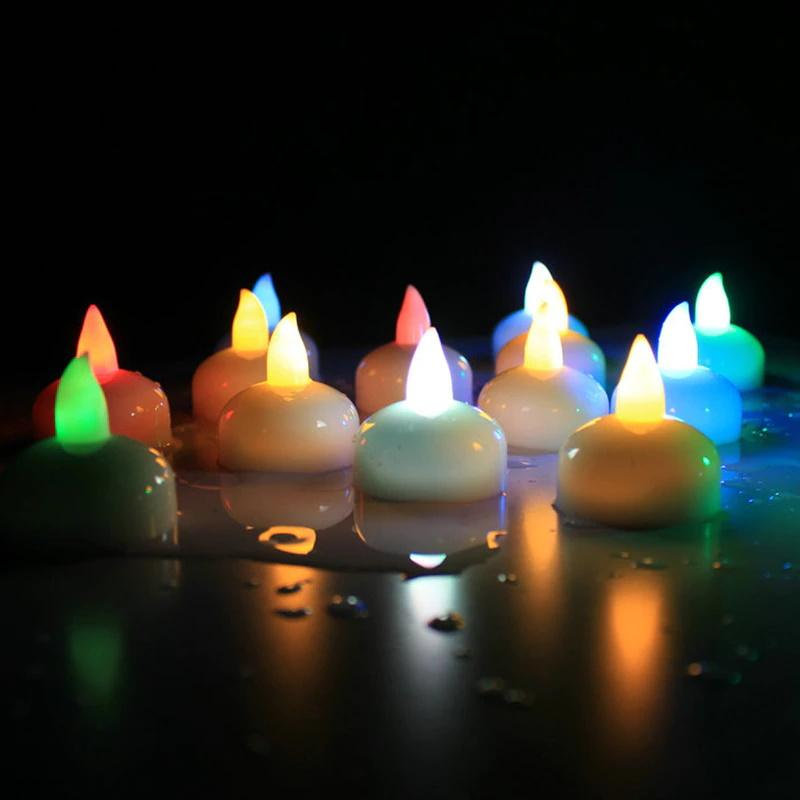 Flameless Water Sensor LED Candle